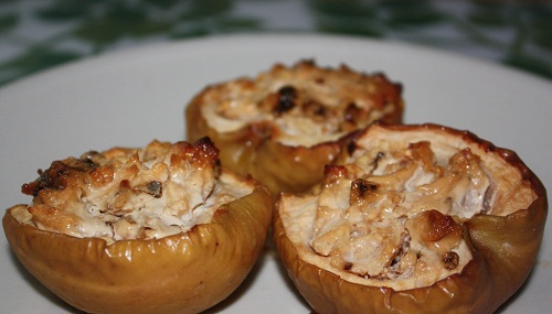 Печені яблучка: мммм….