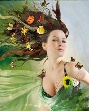 Квіткова красуне…*