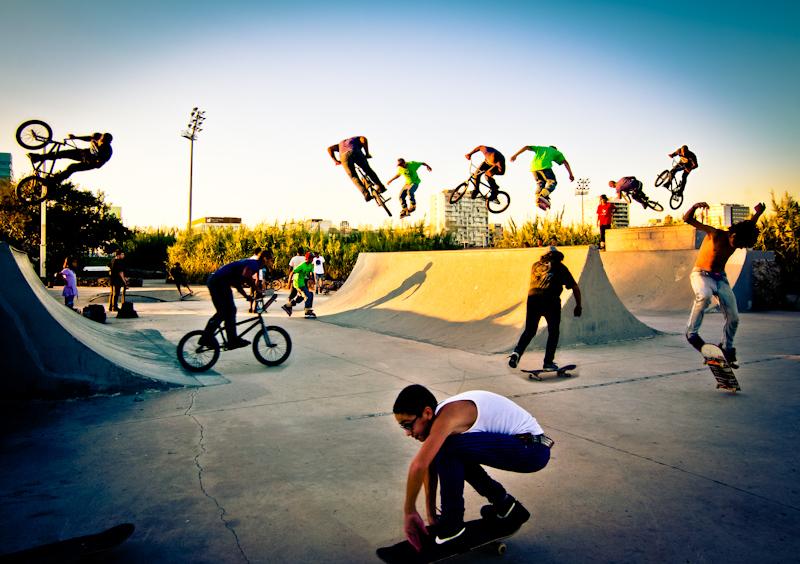 Монолог Устинки в скейт-парку…