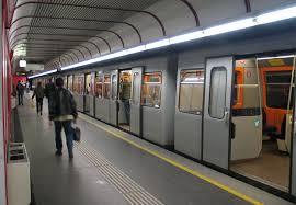 В міському потягу