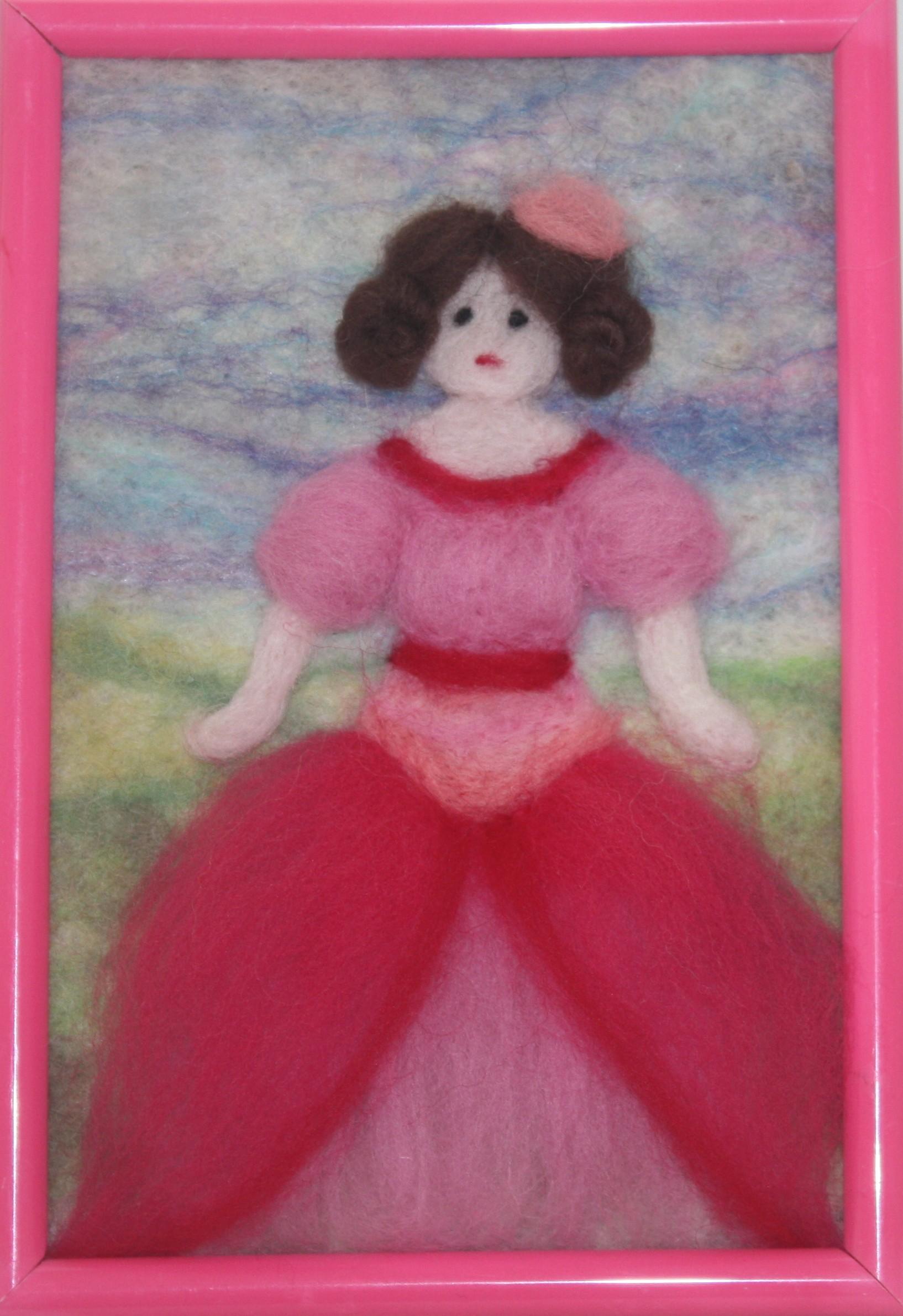 Рожеве дівчатисько
