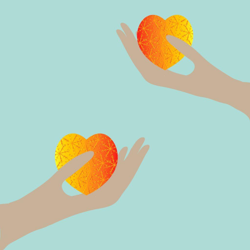 серце в руці, серце, рука
