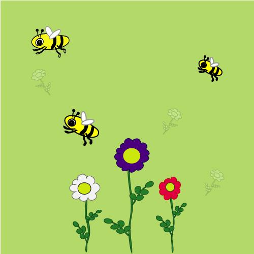 Не сидиться у вулику бджолам, бджоли хочуть збирати мед, вірш про бджіл